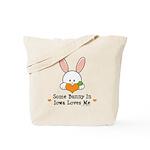 Some Bunny In Iowa Loves Me Tote Bag