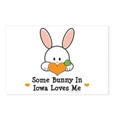 Some Bunny In Iowa Loves Me Postcards (Package of