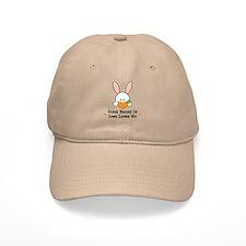 Some Bunny In Iowa Loves Me Baseball Cap