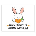 Some Bunny In Kansas Loves Me Small Poster