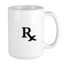 Pharmacy Rx Symbol Mug