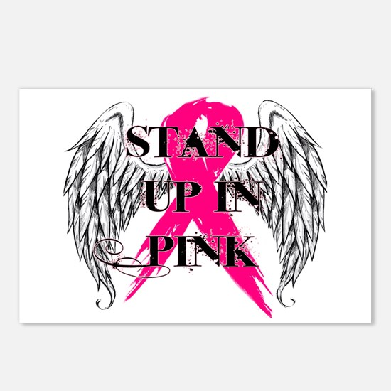 Stand Up In Pink Postcards (Package of 8)