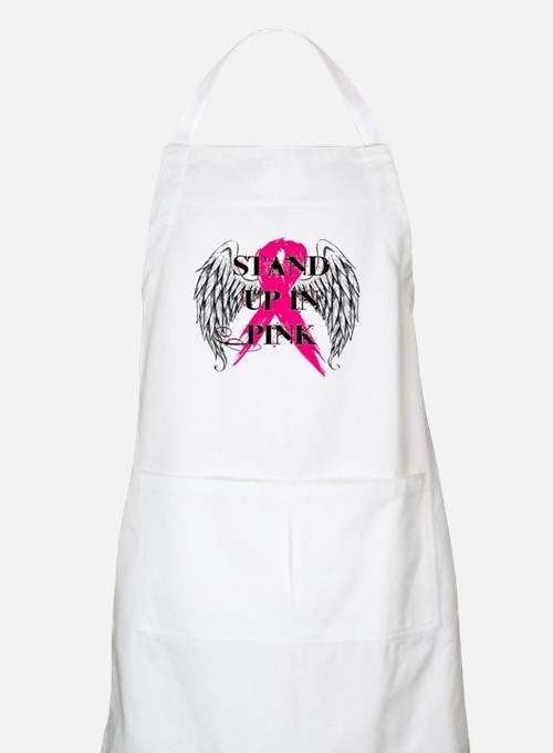 Stand Up In Pink Apron