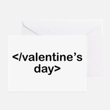Stop Valentine's Day Greeting Cards (Pk of 10)