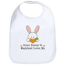 Some Bunny In Maryland Loves Me Bib