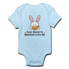 Some Bunny In Maryland Loves Me Infant Bodysuit