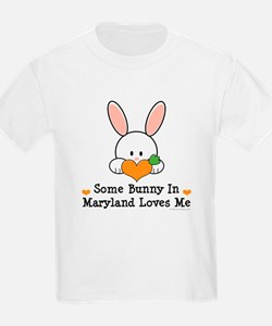 Some Bunny In Maryland Loves Me T-Shirt