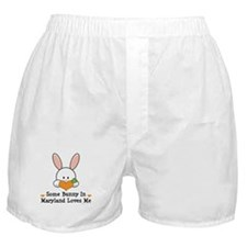 Some Bunny In Maryland Loves Me Boxer Shorts