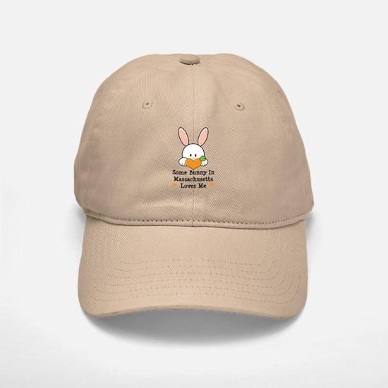 Some Bunny In Massachusetts Baseball Baseball Cap