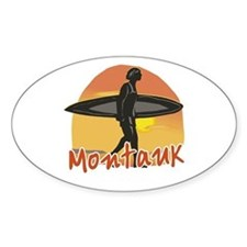 Montauk Surf Decal