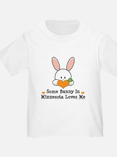 Some Bunny In Minnesota Loves Me T