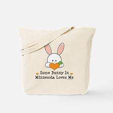 Some Bunny In Minnesota Loves Me Tote Bag