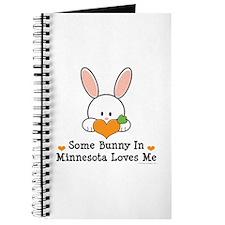 Some Bunny In Minnesota Loves Me Journal