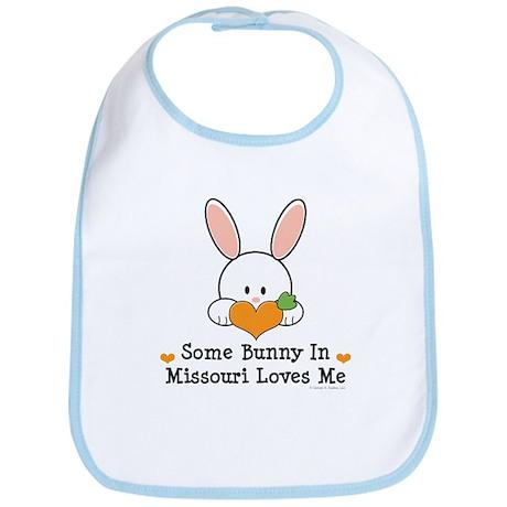 Some Bunny In Missouri Loves Me Bib