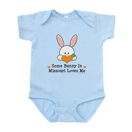 Some Bunny In Missouri Loves Me Infant Bodysuit
