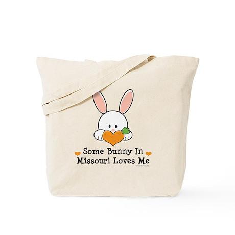 Some Bunny In Missouri Loves Me Tote Bag