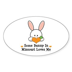 Some Bunny In Missouri Loves Me Decal