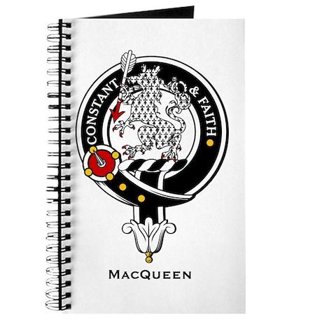 MacQueen Clan Crest Badge Journal