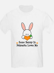 Some Bunny In Nebraska Loves Me T-Shirt