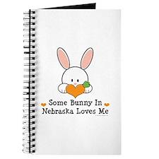 Some Bunny In Nebraska Loves Me Journal