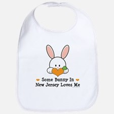 Some Bunny In New Jersey Bib