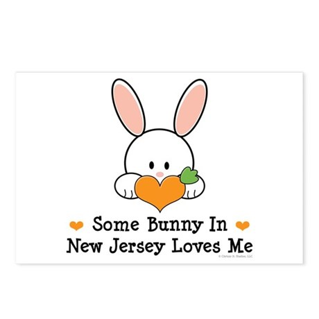 Some Bunny In New Jersey Postcards (Package of 8)