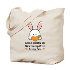 Some Bunny In New Hampshire Tote Bag