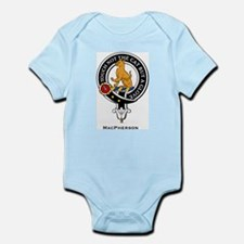 MacPherson Clan Crest Badge Infant Creeper