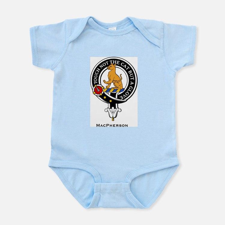 MacPherson Clan Crest Badge Infant Creeper