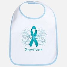 Ovarian Cancer Survivor Bib
