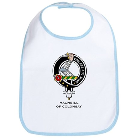 MacNeill Clan Crest Badge Bib