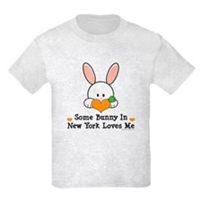 Some Bunny In New York Loves Me T-Shirt