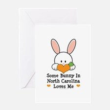 Some Bunny In North Carolina Greeting Card