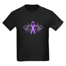 Purple Ribbon T