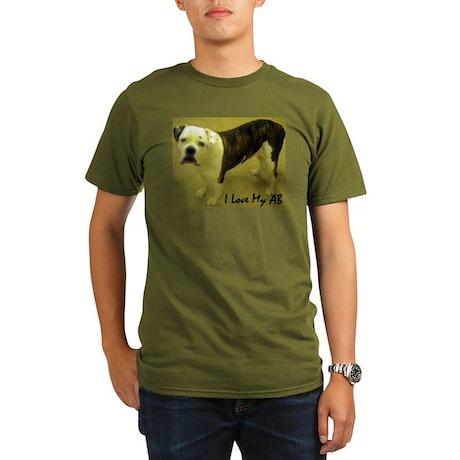 I Love My AB Organic Men's T-Shirt (dark)