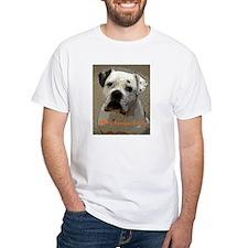 I Love My American Bulldog Shirt