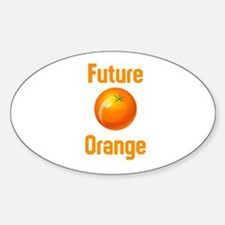 Future Orange Decal