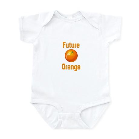 Future Orange Infant Bodysuit