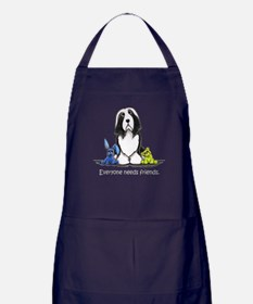 Beardie Needs Friends Apron (dark)