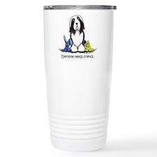 Beardie Needs Friends Travel Mug