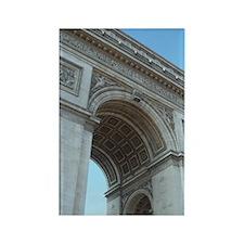 Arc de Triomphe Rectangle Magnet