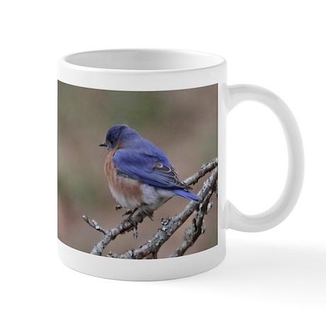 Perching Bluebird Mug