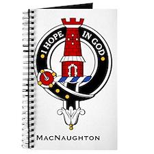 MacNaughton Clan Crest Badge Journal
