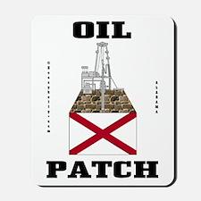Alabama Oil Patch Mousepad,Oil Field,Rig