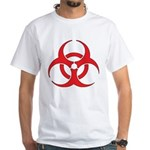 Biohazzard White T-Shirt
