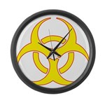 Biohazzard Large Wall Clock