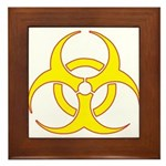 Biohazzard Framed Tile