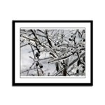 Flash Frozen Framed Panel Print