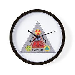 FBI Weapons of Mass Destructi Wall Clock