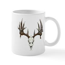 whitetail skull Mug